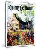 """""""Home in Springtime """" Country Gentleman Cover  April 1  1930"""