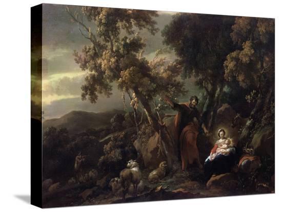 nicolaes-berchem-rest-on-the-flight-into-egypt-17th-century
