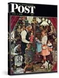 """April Fool  1948"" Saturday Evening Post Cover  April 3 1948"