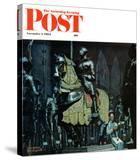 """Armor"" Saturday Evening Post Cover  November 3 1962"