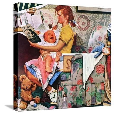norman-rockwell-baby-sitter-november-8-1947