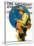 """Contentment"" Saturday Evening Post Cover  August 28 1926"
