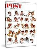 """Day in the Life of a Boy"" Saturday Evening Post Cover  May 24 1952"
