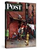 """Homecoming GI"" Saturday Evening Post Cover  May 26 1945"