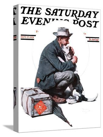norman-rockwell-man-and-dog-or-pals-saturday-evening-post-cover-september-27-1924
