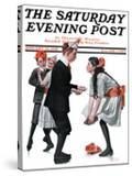 """Pardon Me"" Saturday Evening Post Cover  January 26 1918"