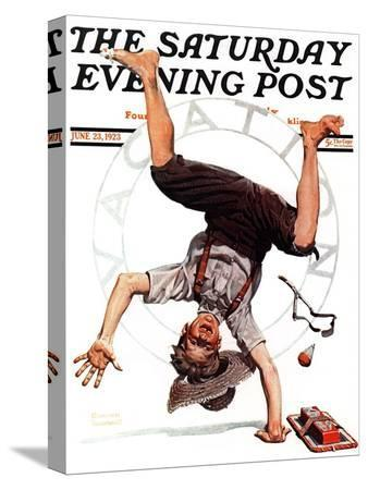 norman-rockwell-summer-vacation-1923-saturday-evening-post-cover-june-23-1923