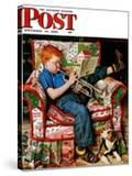 """Trumpeter"" Saturday Evening Post Cover  November 18 1950"