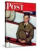 """""""Willie Gillis in Church"""" Saturday Evening Post Cover  July 25 1942"""