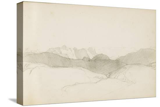 odilon-redon-drawing-from-an-album-titled-the-basque-country-1862-63