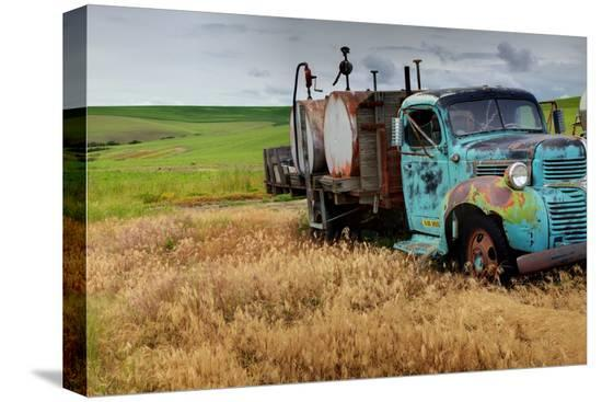 old-field-fuel-truck-with-multi-color-paint