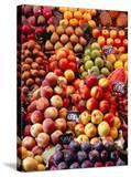 Fruit at La Boqueria Market  Barcelona  Spain