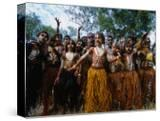 Lockhart River State School Dance Troupe  Cape York Peninsula  Queensland  Australia