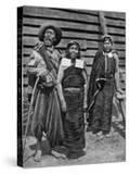 Patagonian Indians  Argentina  1922