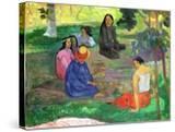 Les Parau Parau (The Gossipers)  or Conversation  1891