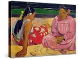 Women of Tahiti  on the Beach  1891