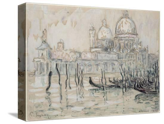 paul-signac-venice-or-the-gondolas-1908-black-chalk-and-w-c-on-paper