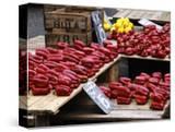 Street Market Stall Selling Produce  Montevideo  Uruguay