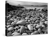 Stony Beach on Knoydart Peninsula  Western Scotland