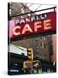 Advertising - Fanelli Cafe - Soho - Mahnattan - New York - United States