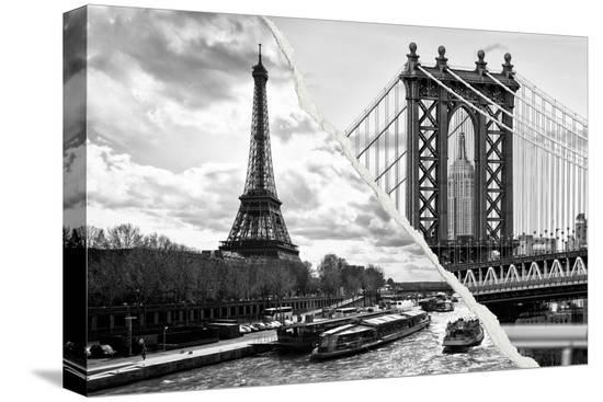 philippe-hugonnard-dual-torn-posters-series-paris-new-york