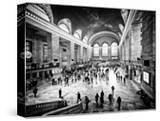 Lifestyle Instant  Grand Central Terminal  Black and White Photography Vintage  Manhattan  NYC  US