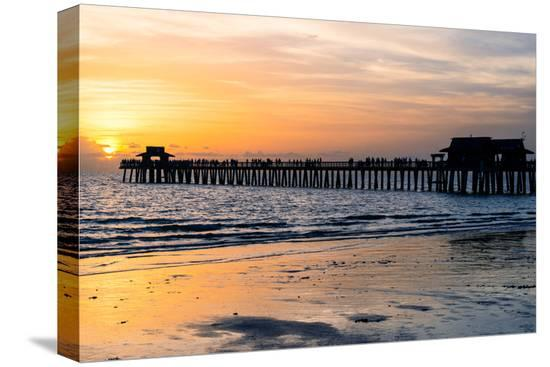 philippe-hugonnard-naples-florida-pier-at-sunset