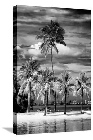philippe-hugonnard-paradisiacal-beach-overlooking-downtown-miami-florida
