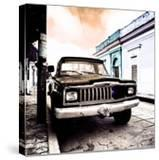 ¡Viva Mexico! Square Collection - Old Jeep in the street of San Cristobal VII