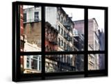 Window View  Special Series  Soho Building  Manhattan  New York City  United States