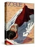 Vogue Cover - July 1933 - Beach Siesta