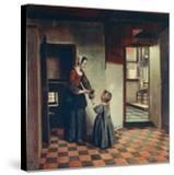 Woman with a Child in a Pantry  C1660