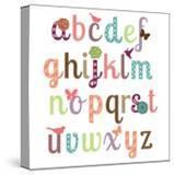Girly Alphabet Set