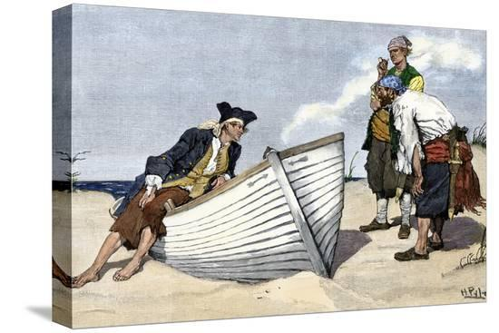 pirates-around-a-rowboat-on-an-island