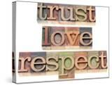 Trust  Love  Respect Words