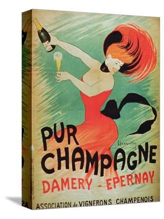 poster-advertising-pur-champagne-from-damery-epernay