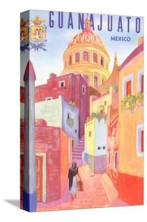 poster-for-guanajuato-mexico-colonial-streets
