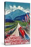 Poster for St Moritz Car Show