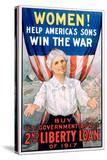 Women! Help America's Sons Win the War