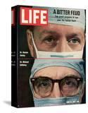 Dr Denton Cooley and Dr Michael Debakey  April 10  1970