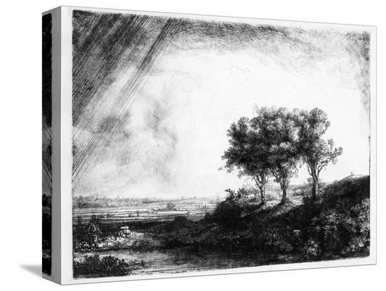 rembrandt-van-rijn-the-three-trees-engraved-by-james-bretherton-etching