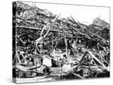 Renault Factory Destroyed by Allied Bombing  Sevres  Near Paris  1940-1944