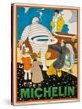 Advertising Poster for Michelin  C 1925