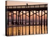 Newport Beach Pier at Sunset  Newport Beach  Orange County  California  United States of America  N