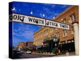 Stockyards District  Fort Worth  Texas