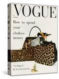 Vogue Cover - October 1958 - Animal Accessories