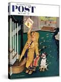 """Happy Mother's Day"" Saturday Evening Post Cover  May 11  1957"