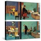 """""""Putting Time in the Office """" February 18  1961"""