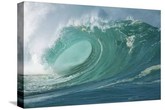 rick-doyle-shorebreak-waves-in-waimea-bay