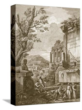 robert-adam-plate-i-from-ruins-of-the-palace-of-emperor-diocletian-at-spalatro-in-dalmatia-published-1764